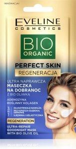 Eveline Bio Organic Perfect Skin Ultra Naprawcza Maseczka na dobranoc z bio oliwką 8ml