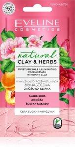 Eveline Natural Clay & Herbs Bio Maseczka z różową glinką  8ml