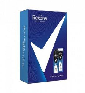 Rexona Men Zestaw prezentowy Cobalt (dezodorant w sprayu 150ml+ żel pod prysznic 250ml)