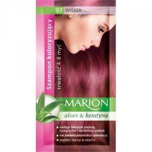 Marion Szampon koloryzujący 4-8 myć nr 97 wiśnia