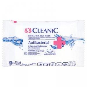 Cleanic Chusteczki odświeżające Antibacterial  1 op.-15szt