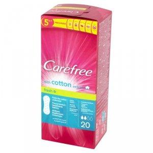 Carefree Cotton Fresh Wkładki higieniczne 1 op.-20szt