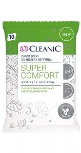 Cleanic Chusteczki do higieny intymnej Super Comfort  1op.-10szt