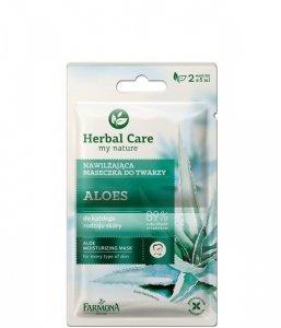 Farmona Herbal Care Maseczka nawilżająca Aloes - saszetka 5ml x 2