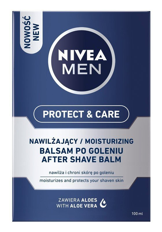NIVEA MEN Balsam po goleniu nawilżający Protect & Care  100ml