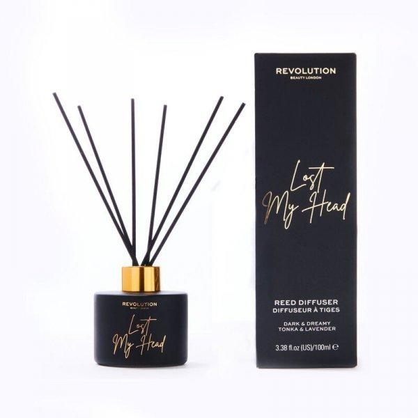 Revolution Beauty Dyfuzor zapachowy do pomieszczeń Lost My Head - patyczki+olejek 100ml
