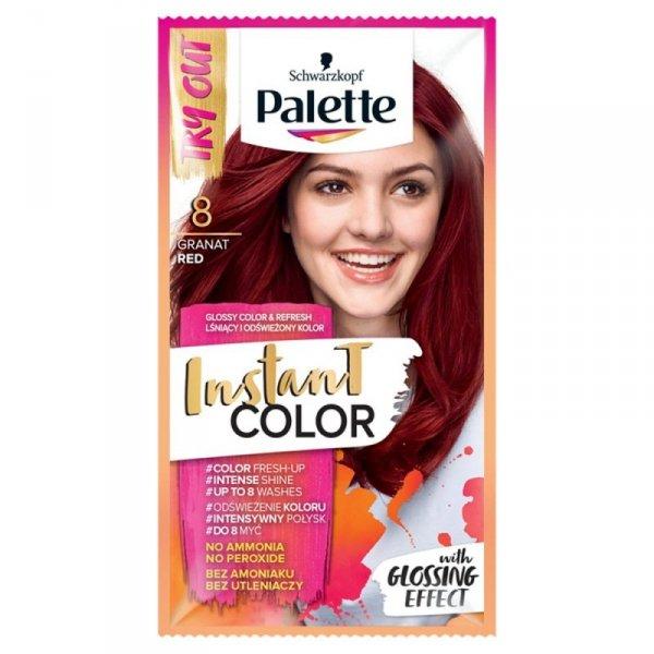 Palette Instant Color Szamponetka koloryzująca Czerwień Granatu nr 8  1szt