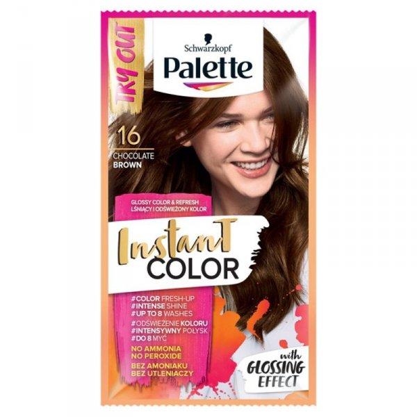 Palette Instant Color Szamponetka koloryzująca Czekoladowy Brąz nr 16  1szt