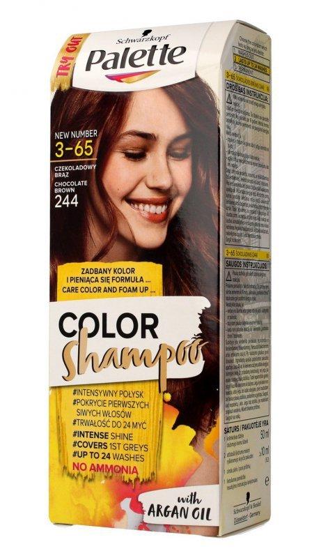 Palette Color Shampoo Szampon koloryzujący  nr 3-65 (244) Czekoladowy Brąz  1op.