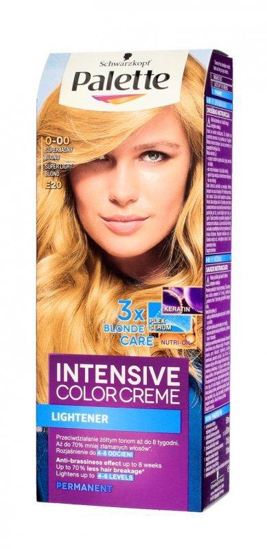 Palette Intensive Color Creme Krem koloryzujący nr E20-superjasny blond  1op.
