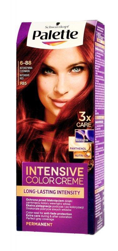 Palette Intensive Color Creme Krem koloryzujący nr RI5-intensywna czerwień  1op.