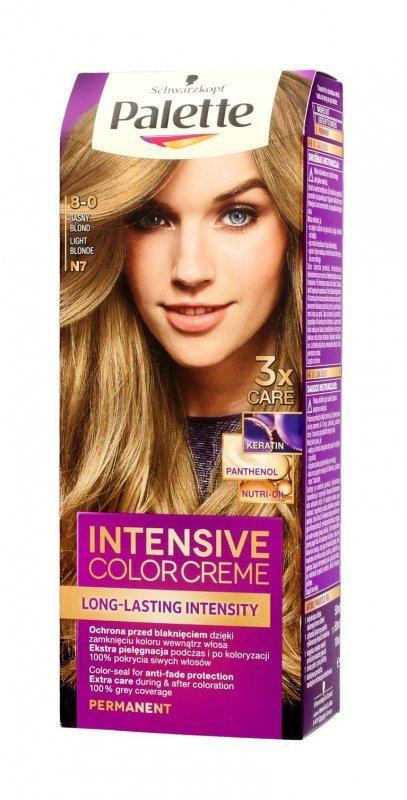 Palette Intensive Color Creme Krem koloryzujący nr N7-jasny blond  1op.