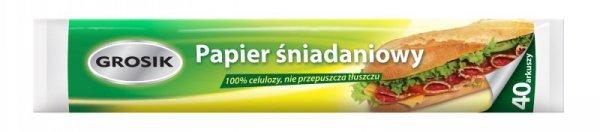 Sarantis Jan Niezbędny Grosik Papier śniadaniowy 40arkuszy