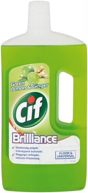 Cif Brillance Green Lemon&Ginger Płyn do mycia 1L