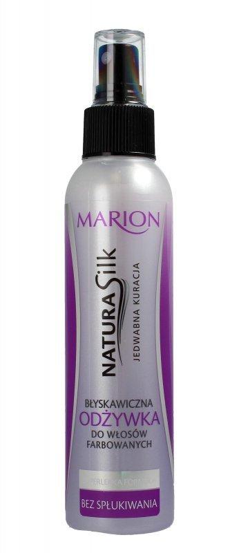 Marion Natura Silk Błyskawiczna odżywka do włosów farbowanych 150ml