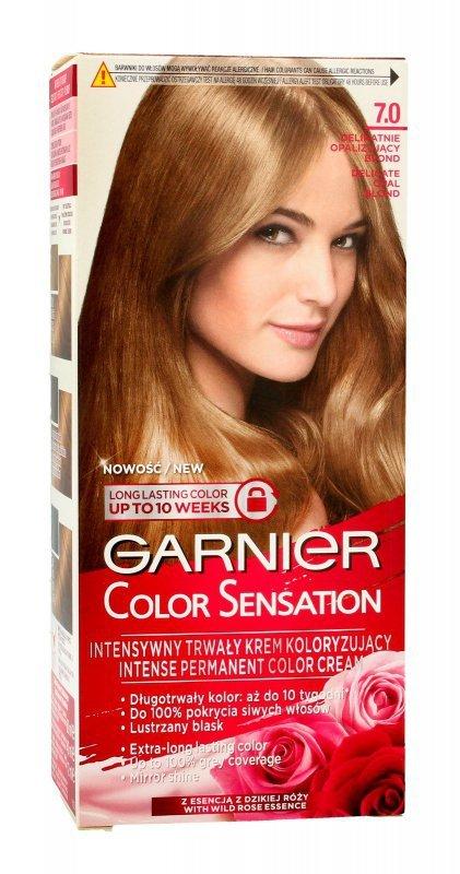 Garnier Color Sensation Krem koloryzujący 7.0 Opal Blond- Delikatnie opalizujący blond