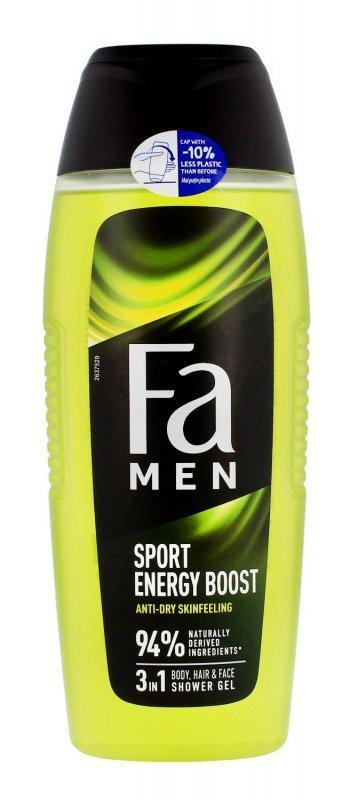 Fa Men Xtreme Sport Energy Boost Żel pod prysznic 3w1 400 ml