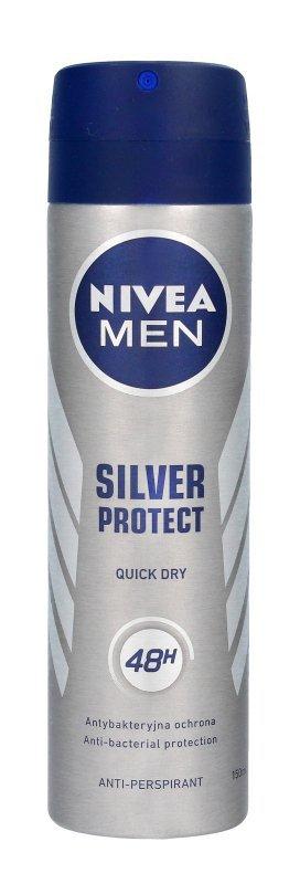 Nivea Dezodorant SILVER PROTECT DYNAMIC POWER spray męski  150ml