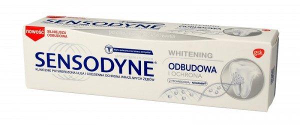 GSK Sensodyne Pasta do zębów Odbudowa i Ochrona Whitening 75ml