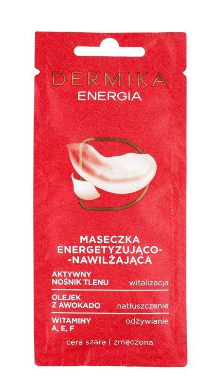 Dermika Maseczki Piękności Maseczka energetyzująco-nawilżająca Energia 10ml