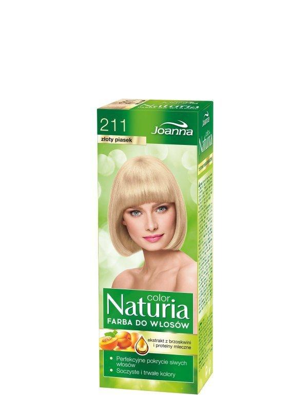 Joanna Naturia Color Farba do włosów nr 211-złoty piasek  150g