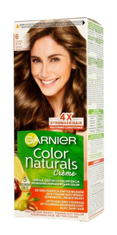 Garnier Color Naturals Krem koloryzujący nr 6 Ciemny Blond 1op