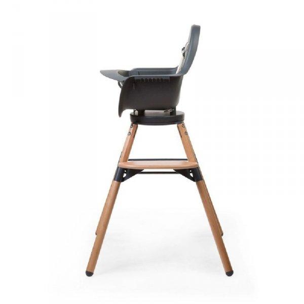 Childhome Krzesełko do karmienia Evolu 2 ONE.80° Natural/Anthracite