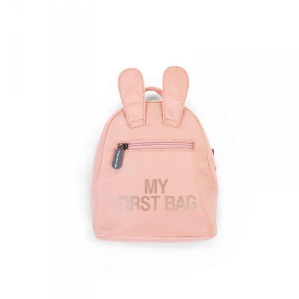 Childhome Plecak dziecięcy My First Bag Różowy