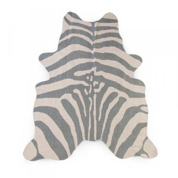 Childhome Dywan Zebra 145 x 160 cm Grey