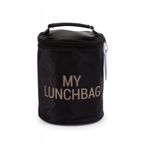 Childhome Śniadaniówka My Lunchbag Czarno-Złota