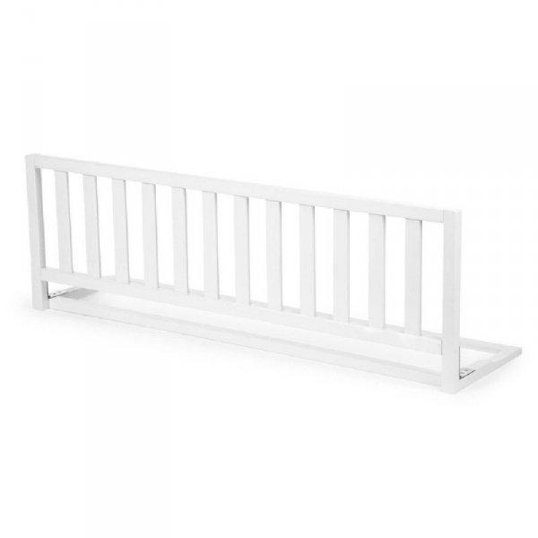 Childhome Drewniana barierka do łóżka 120 cm White