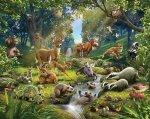 Tapeta 3D Walltastic Animals