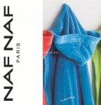 Elegancki szlafrok unisex Naf Naf turkusowy  XL