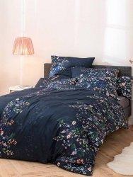 Estella pościel satyna de luxe Gabrielle nachtblau 1065 155x200