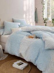 Estella pościel satyna de luxe Otello blau 1062 155x200