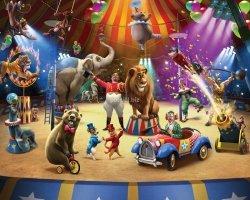 Tapeta 3D Walltastic  Circus