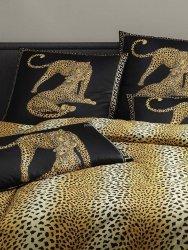 Elegante pościel bawełniana egipska Gepard Pair schwarz 2352 240x220