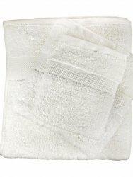 Ręcznik jednolity biały 550g - 50x100