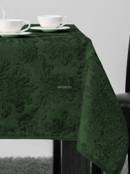 Bieżnik żakardowy zieleń 50x150