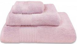 Nowoczesny ręcznik jednolity różowy 700g - 30x50, 50x100, 70x140