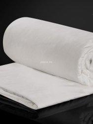 Kołdra jedwabna Malbery całoroczna w bawełnianym poszyciu 200x220