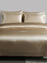Malbery jedwabna poszewka na poduszkę light caramel 40x40, 40x60, 50x70, 70x80