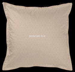 Exclusive Curt Bauer poszewka na poduszkę mako-żakardowa Asanoha dusty sand