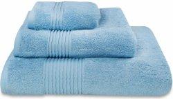 Nowoczesny ręcznik jednolity błękit 700g - 30x50, 50x100, 70x140