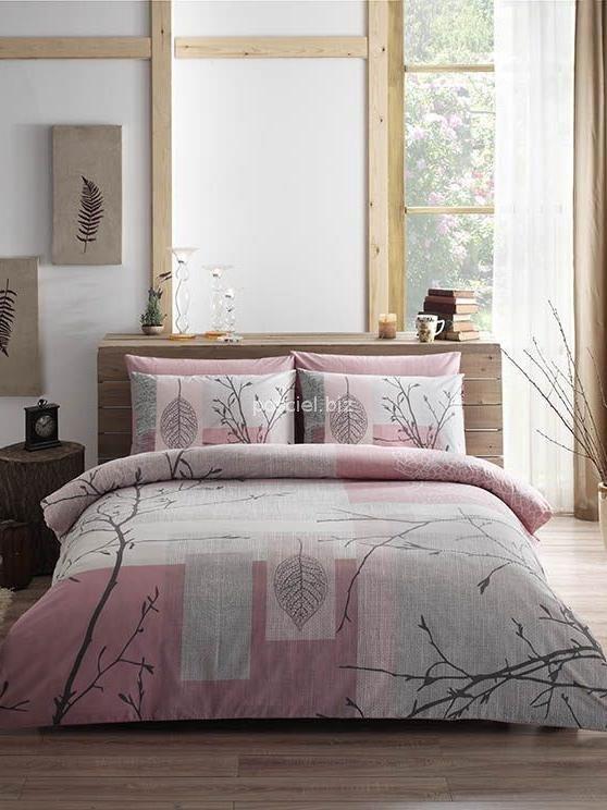Tac pościel bawełniana Laurel pink 200x220
