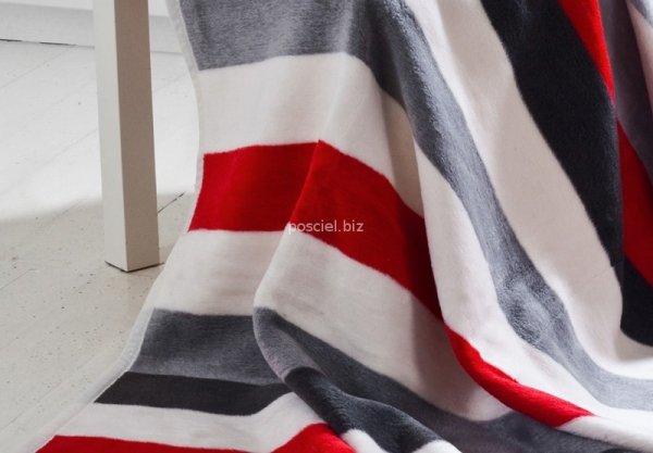 Moca desgin koc Stripes red