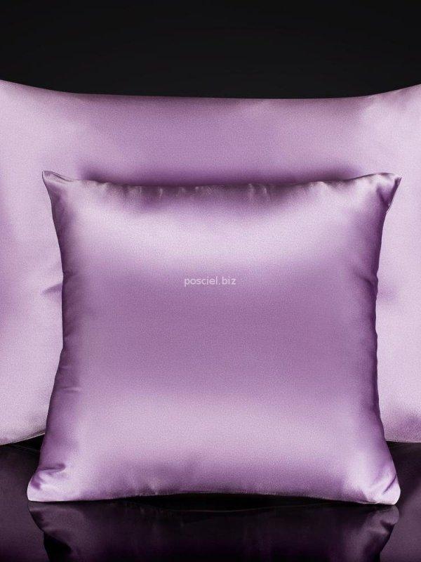 Jedwabna poszewka na poduszkę lavender 40x40, 40x60, 50x70, 70x80