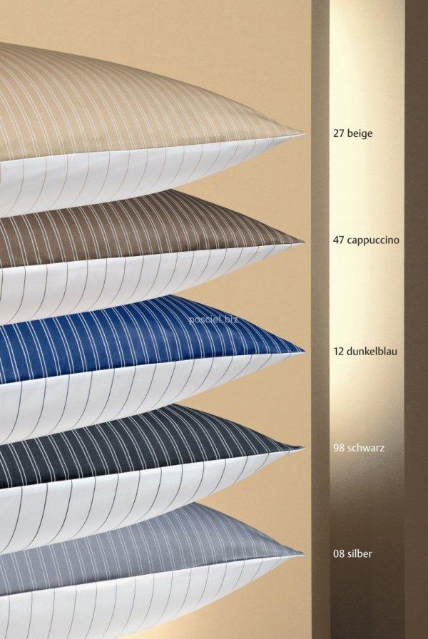 Janine  mako-satyna Classic silber w paski 3936 200x220