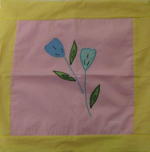 Poszewka dziecięca kwiat