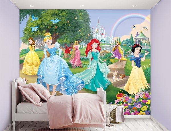 Tapeta 3D Walltastic Księżniczki